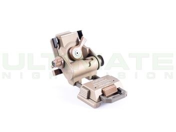 L4 G24 Mount with Low Profile Breakaway Base; Accommodates AN/PVS-14 Arm and AN/PVS-15/18 Mount Only