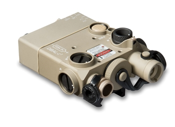 Laser Devices DBAL I2 Red Laser Desert Sand