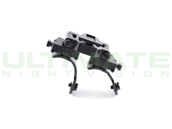 Dual pvs14 helmet bridge mount d14