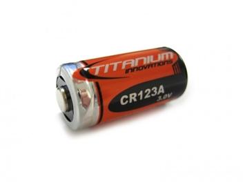 Titanium Innovations CR123A 3V Lithium Battery