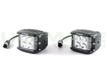 ULTIMATE Infrared LED Light Cubes Lateral Throw Side Shooter- 940nm Flood Pair