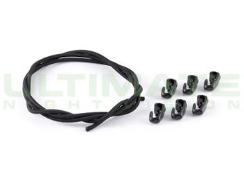 UNV Shock Cord Kit - Black